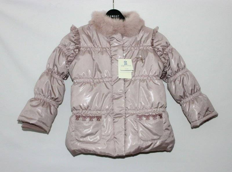 Girls new fashion high quality winter coats