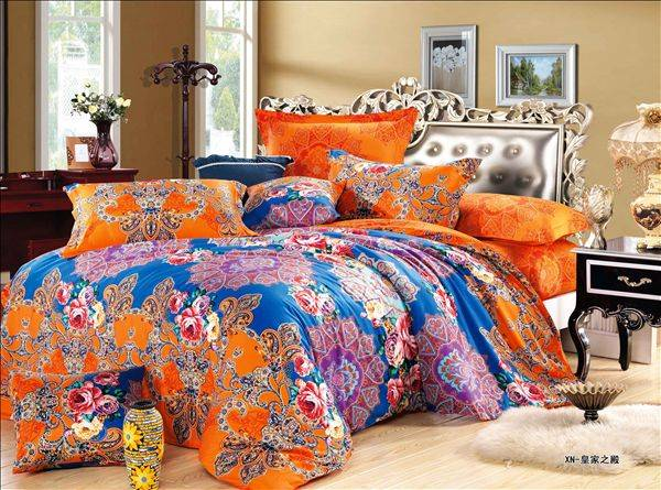 2016 fashion design print cotton fabric for bedding