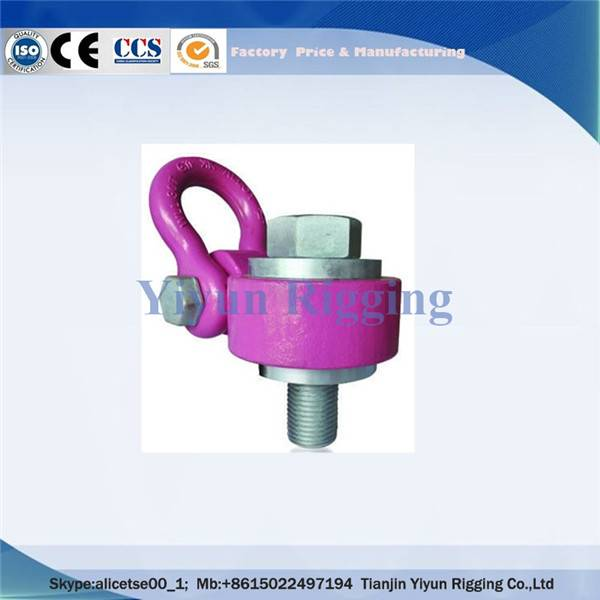 Alloy Steel/Stainless Steel Center Pull Eye Swivel Hoist Ring For Lifting Heavy Load