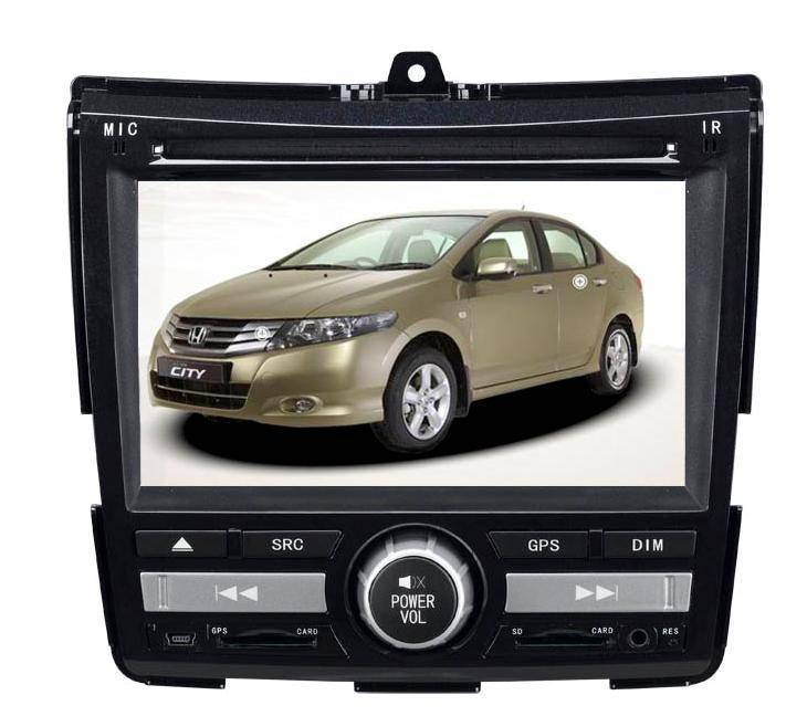 6.2 inch Car GPS DVD Player for CITY (Digital screen)