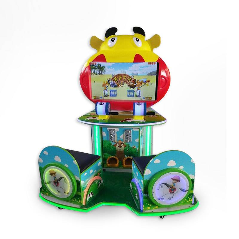 Electric coin operated arcade western cowboy redemption game machine supplier&exporter