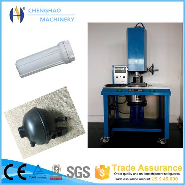 1500W plastic spin welding machine for filter bowl, filter float gage, ice cup
