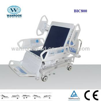 BIC800 Foot Extension, LED indication light, LINAK MOTOR Chair ICU Bed