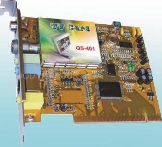 PCI satellite tv card