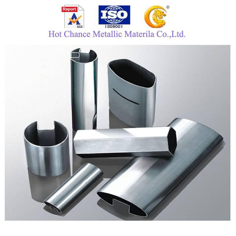 Stainless Steel Slot (single slot /double slot) Pipe& Tube (201,304,316,409 etc.)