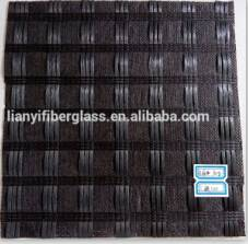 Polyester geogrid composite non-woven geotextile for asphalt reinforcement