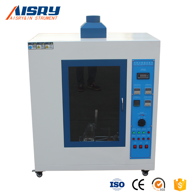 Lab Equipment IEC60695-2-10 aisry Glow wire test equipment / Glow Wire Tester