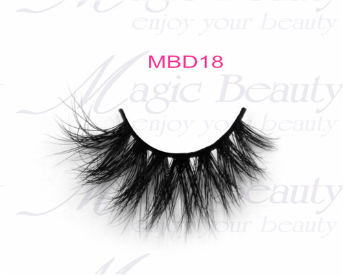 Hot Sale False Eyelashes 3D Mink Lashes MBD18