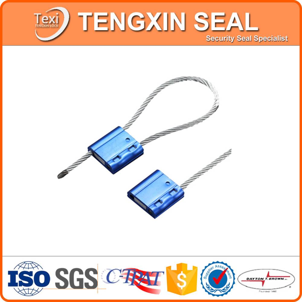 Galvanized Cable Seals With Ajustable Length Cable Wire