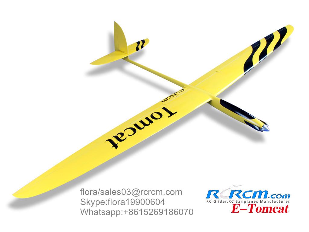Tomcat 2.6m wingspan rc composite airplane