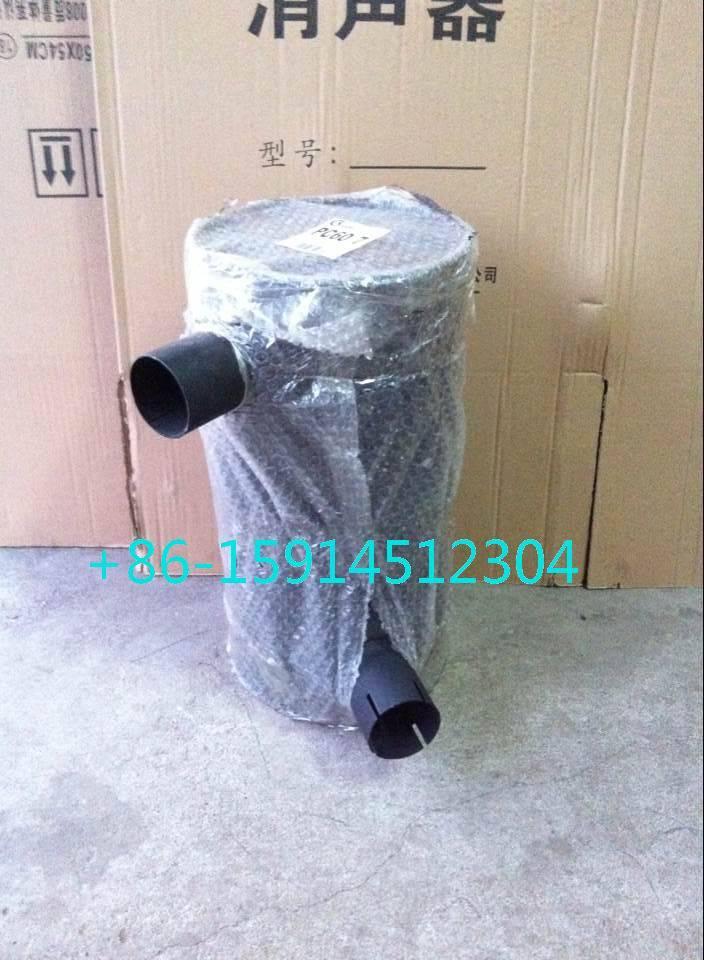 6204-11-5350 komatsu pc60-7 muffler with tube