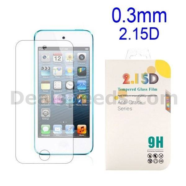 0.3mm 2.15D 9H Nano Anti-Crack Series Tempered Glass Screen Protector Film for iPod Touch 5