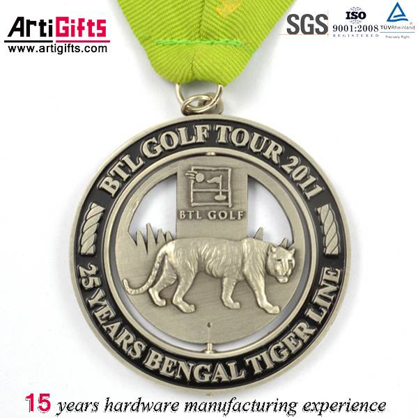 New product custom logo antique medallion