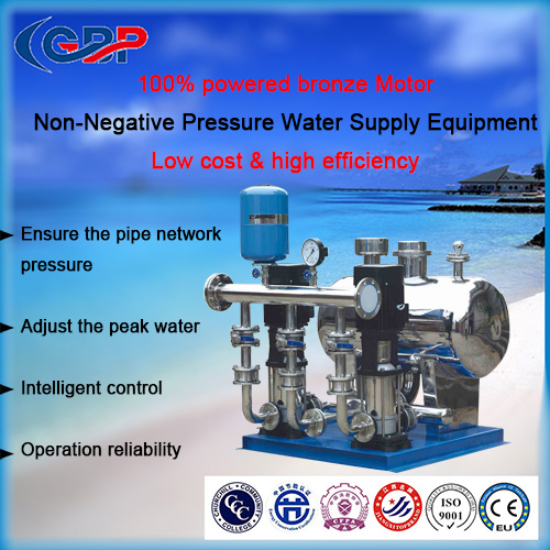 Non-Negative Pressure Water Supply Equipment 32-189-3