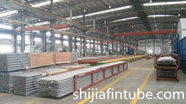 SHIJIA SJ-27 Extruded Stainless Steel aluminium Fin Tube