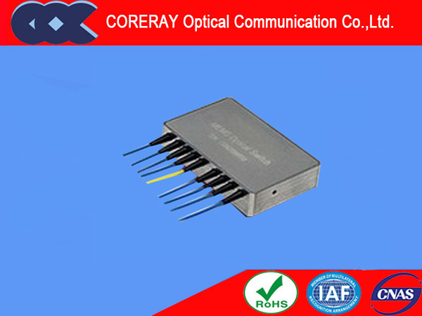 Mems 1x8 Optical Switch Low Crosstalk