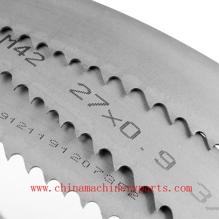 Bi-metal M42 M51 Bandsaw blades for cutting different material