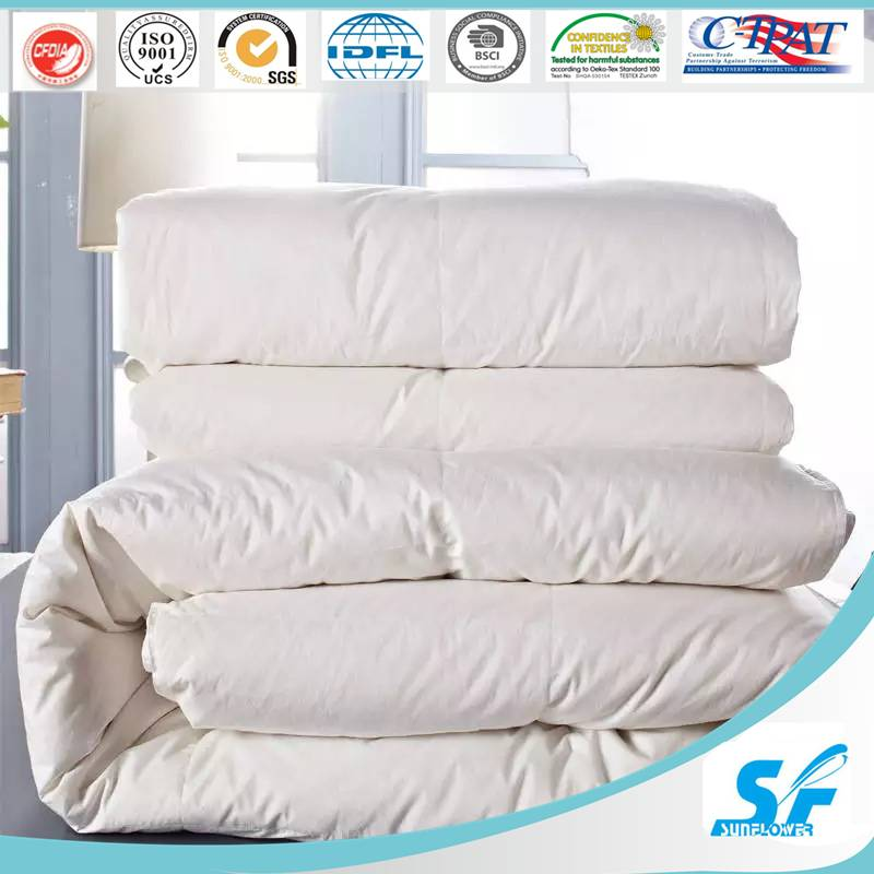 All seasons warmth&Durable goose duck down down quilt/duvet/comforter