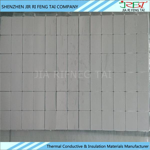 200mm*400mm 300mm*300mm Thermal Conductivity Insulation Silicone Gap Pad
