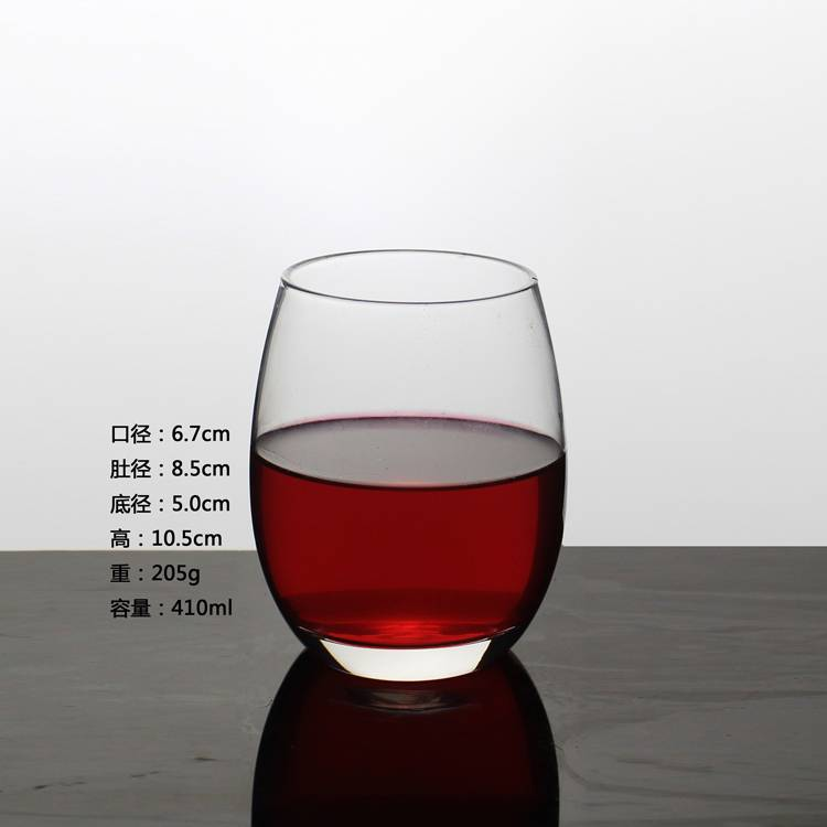 Eco-friendly Cystal Glass Clear Red Wine Glassware Free Customed Wine Glass Cup
