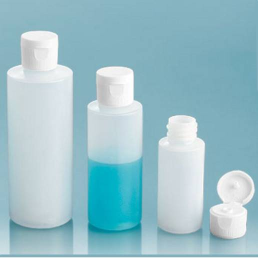 30ml 60ml 120ml Empty Plastic HDPE Cylinders Bottle with Twist Top