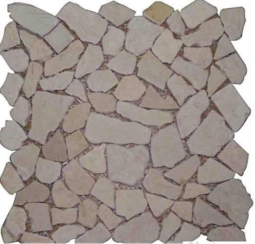 Irregular marble Mosaic Tile
