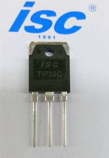 ISC sillicon NPN power transistor TIP35C
