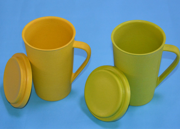 Eco-Friendly Heavy Duty Unbreakable Bamboo Fiber Cups Biodegradable Tea Cup