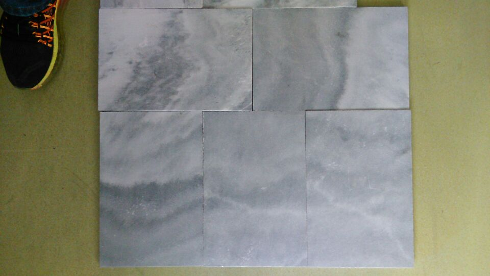 China local blue marble saw cut outdoor marble