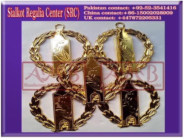 Masonic Grand Lodge Collar jewels
