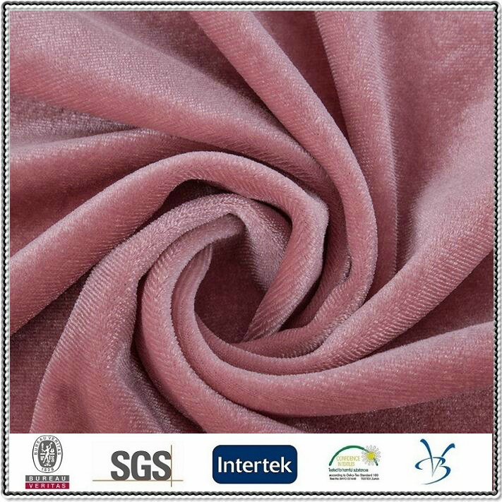 polyester spandex shinny women evening dress clothing fabric