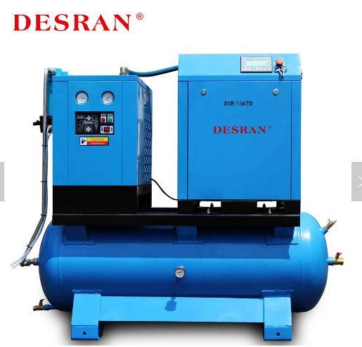 DESRAN DSR-7.5ATD 5.5KW 360L Tank Mounted Compressor With Air Dryer