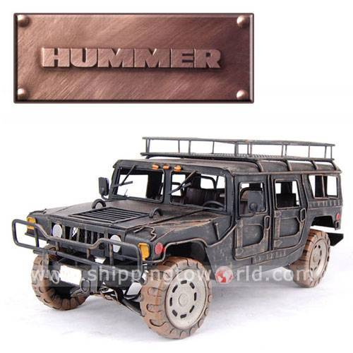 Cross-Country Hummer Bubble Car Model Metal Crafts/iron Decoration