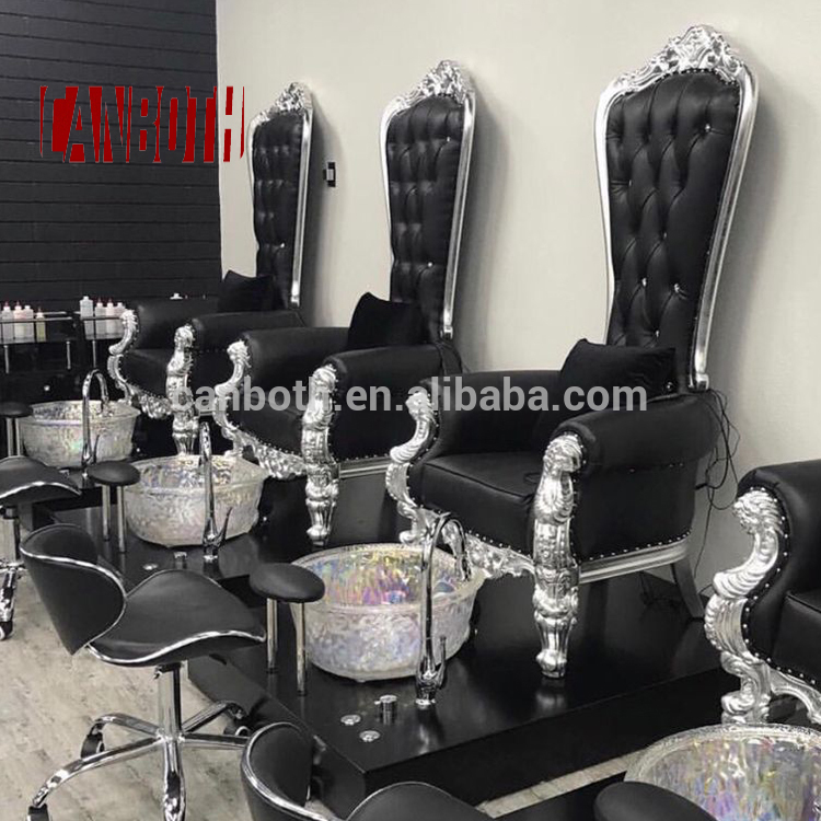 Canboth Beauty salon spa pedicure chairs wholesale for nail shop CB-FP003