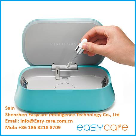 UV c light mobile cell phone sterilizer disinfector sanitizer from Easycare China