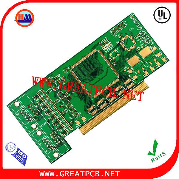6 layer Gold finger pcb board