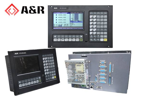 7.0 inch 4-axis CNC milling machine controller for metal working