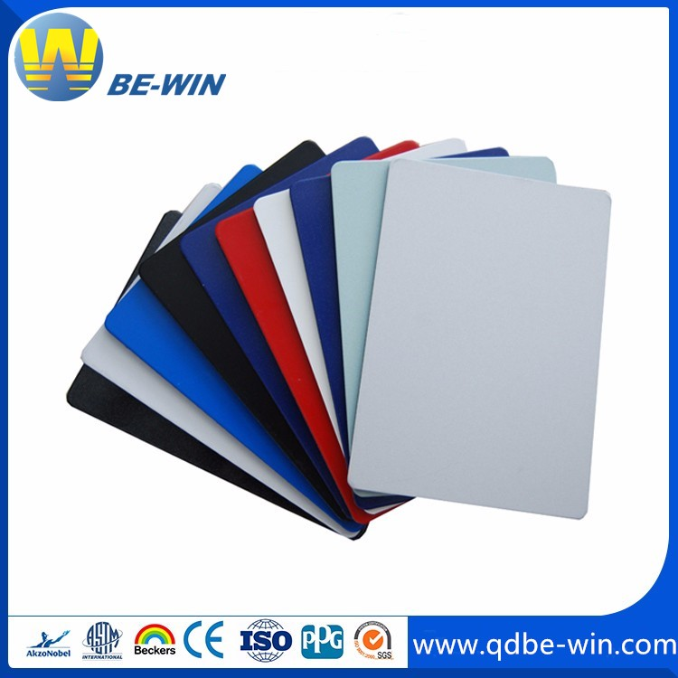 PE/PVDF coating aluminum composite panel curtain wall decoration interior decoration advertising