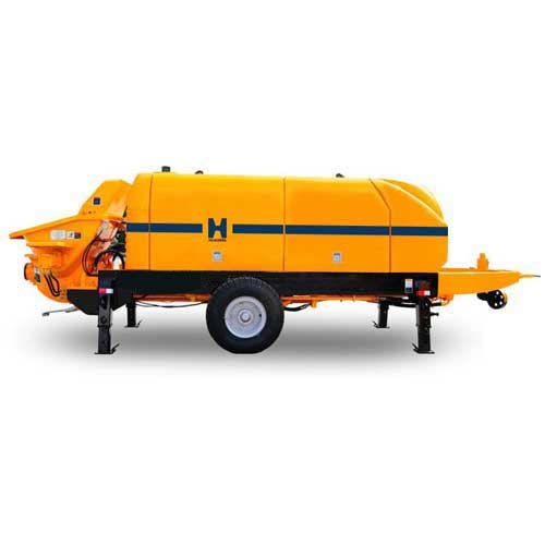 HBT80 Widely High Design Hydraulic Electrical Motor Stationary Line Trailer Mounted Static Concrete