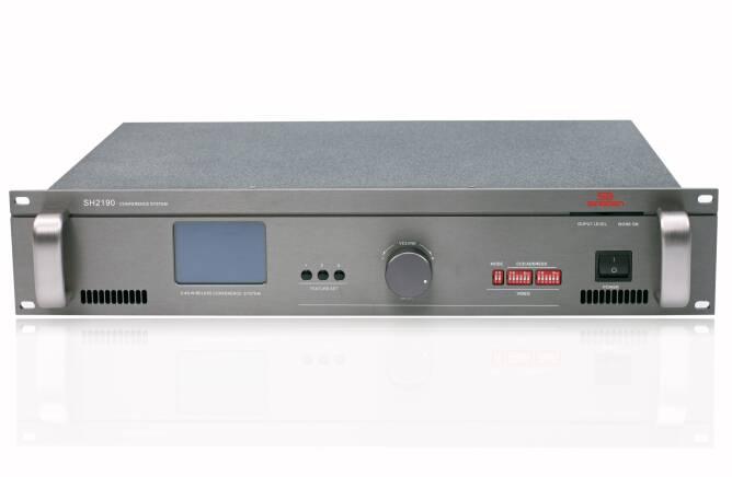 2.4 G Digital wireless conference system Main Unit-SINGDEN--SH2190