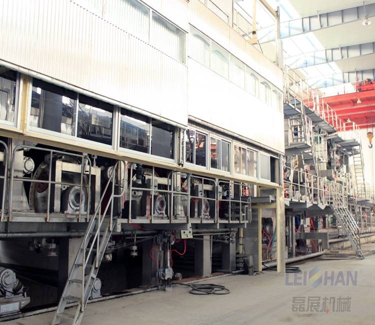 Scrap paper recycling fourdrinier machine for toilet paper, equipment manufacturing toilet paper