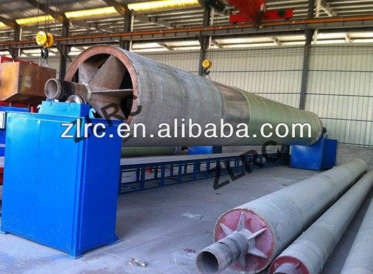 FRP pipe winding machine mandrels