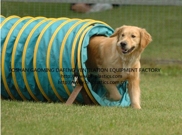 24inch PVC dog tunnel agility training tunnel