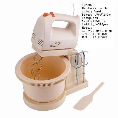 handmixer with bowl