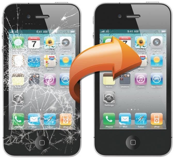 Smart Phone Broken Screen Refurbish Processing