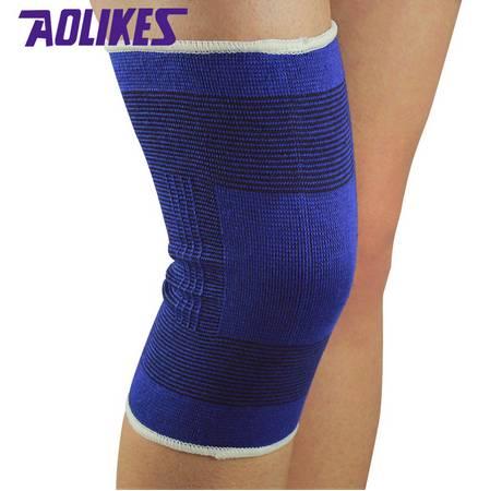Elastic cotton knitting knee brace sleeve