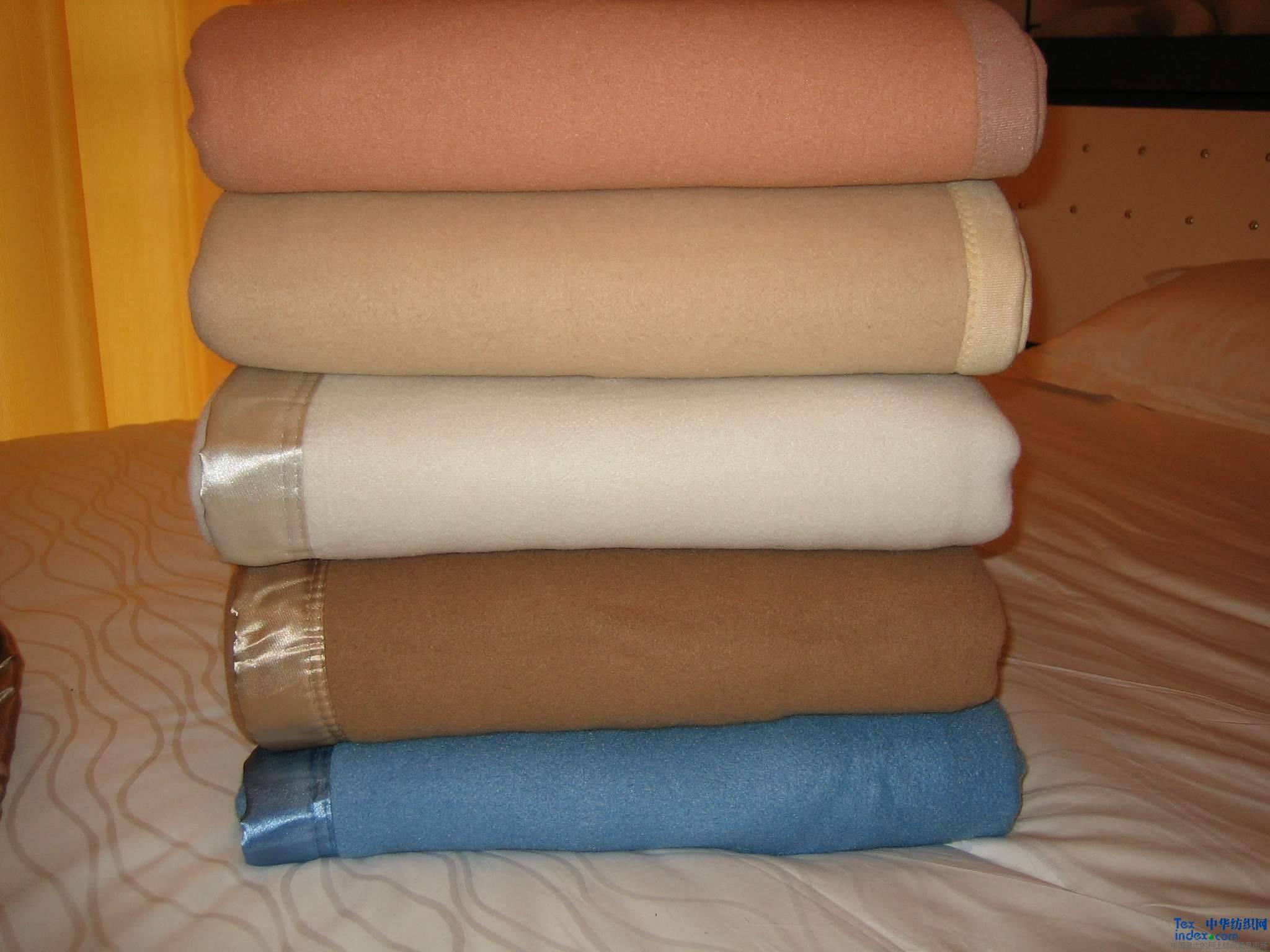 100% wool flame retardant blanket