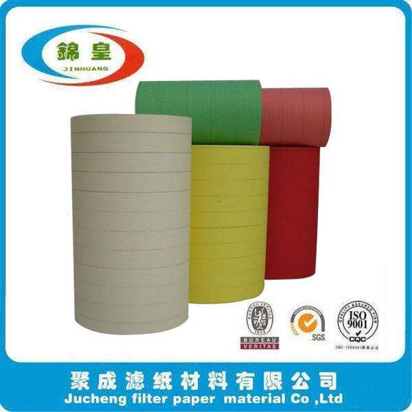 Automobile motorcycle engine filter using paper