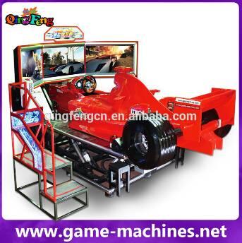 Qingfeng profitable car racing simulator FF racing car game machine