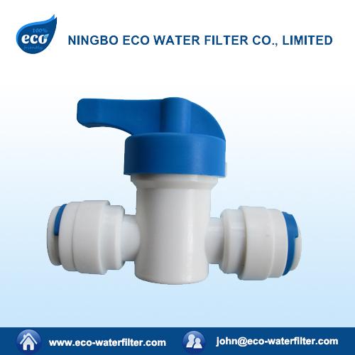 reverse osmosis water filter ball valve